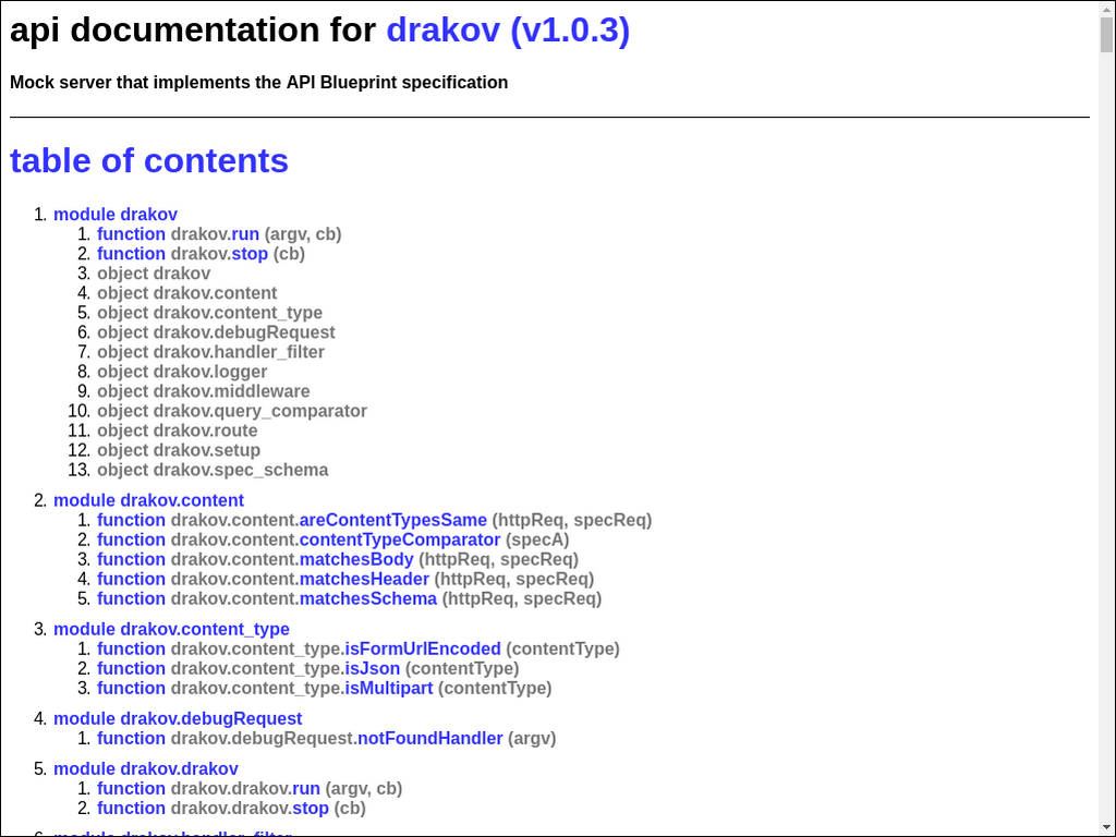Github npmdocnode npmdoc drakov packagejson malvernweather Choice Image