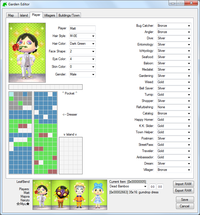 Image of Player Editor