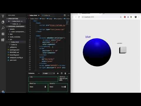 A-Frame Typescript Toolkit