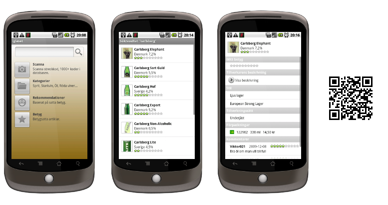 Screenshot of iglaset for Android