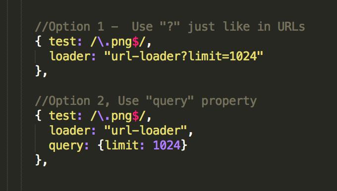 configure loaders