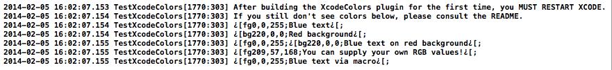 xcodecolors