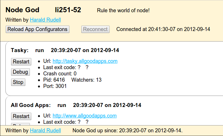 Nodegod Screen Shot