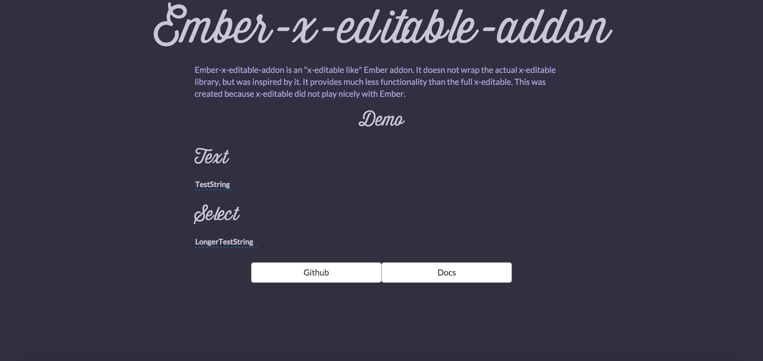 Ember-x-editable demo