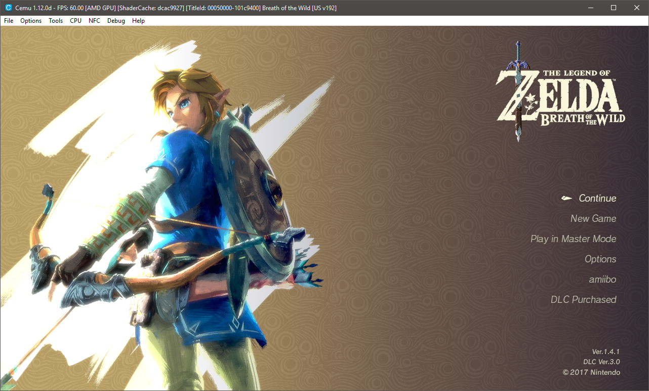Emulating BotW on PC with CEMU and Wii USB Helper · GitHub