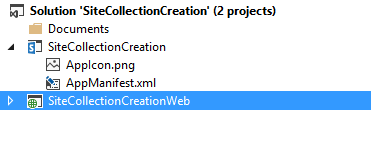 Visual Studio Solution structure