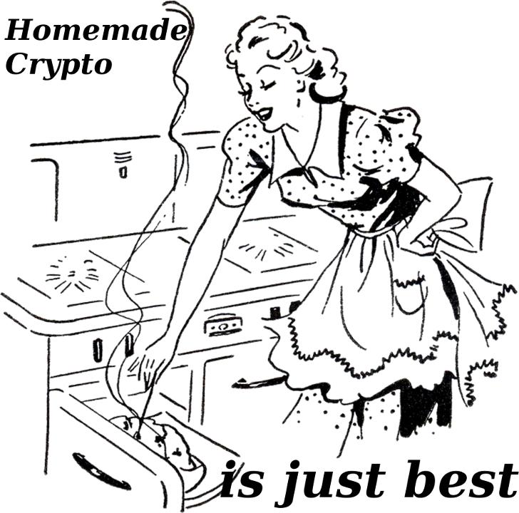 Homemade Crypto