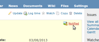 redmine_notified screenshot