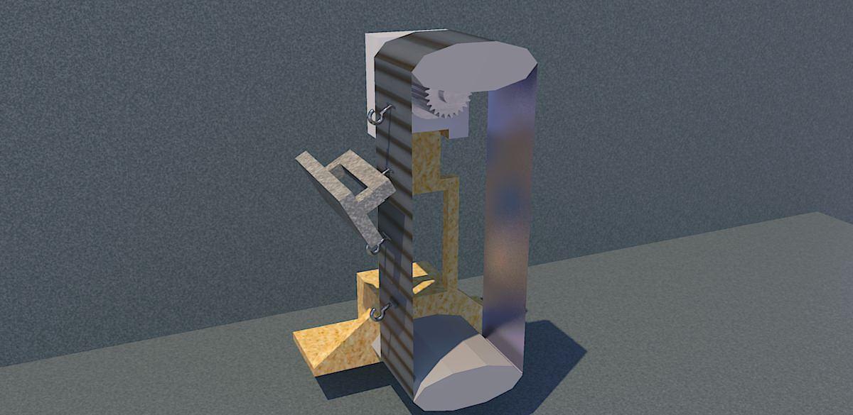 gravity battery sketchup
