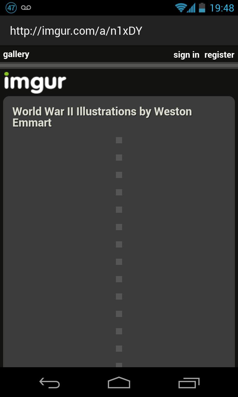 imgur galleries not loading [Add refresh button to internal ...