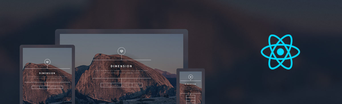 JamStack GatsbyJS Dimension by @AppSeed