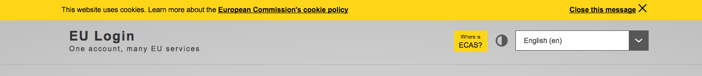 ePrivacy cookie banner