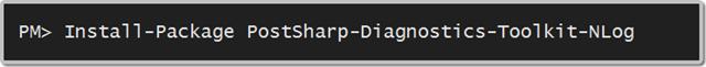 PostSharp Diagnostics Toolkit for NLog