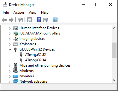 LIBUSB-WIN32 DEVICES DRIVERS DOWNLOAD (2019)