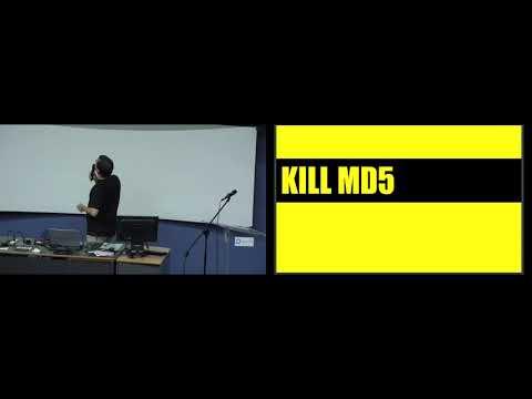 Kill MD5 video