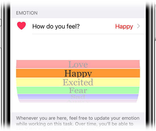 Emotion tracker