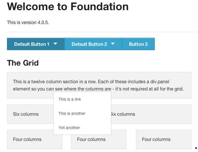 Foundation 4 dropdown button problem · Issue #1825 · zurb
