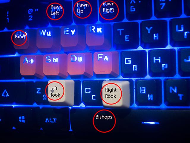 Heighten keys