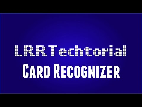LRRTechtorial - Card Recognizer