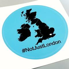 #NotJustLondon