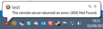 Error tooltip