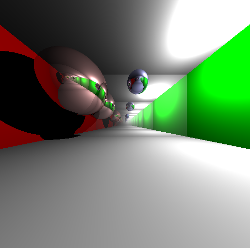an example rendering