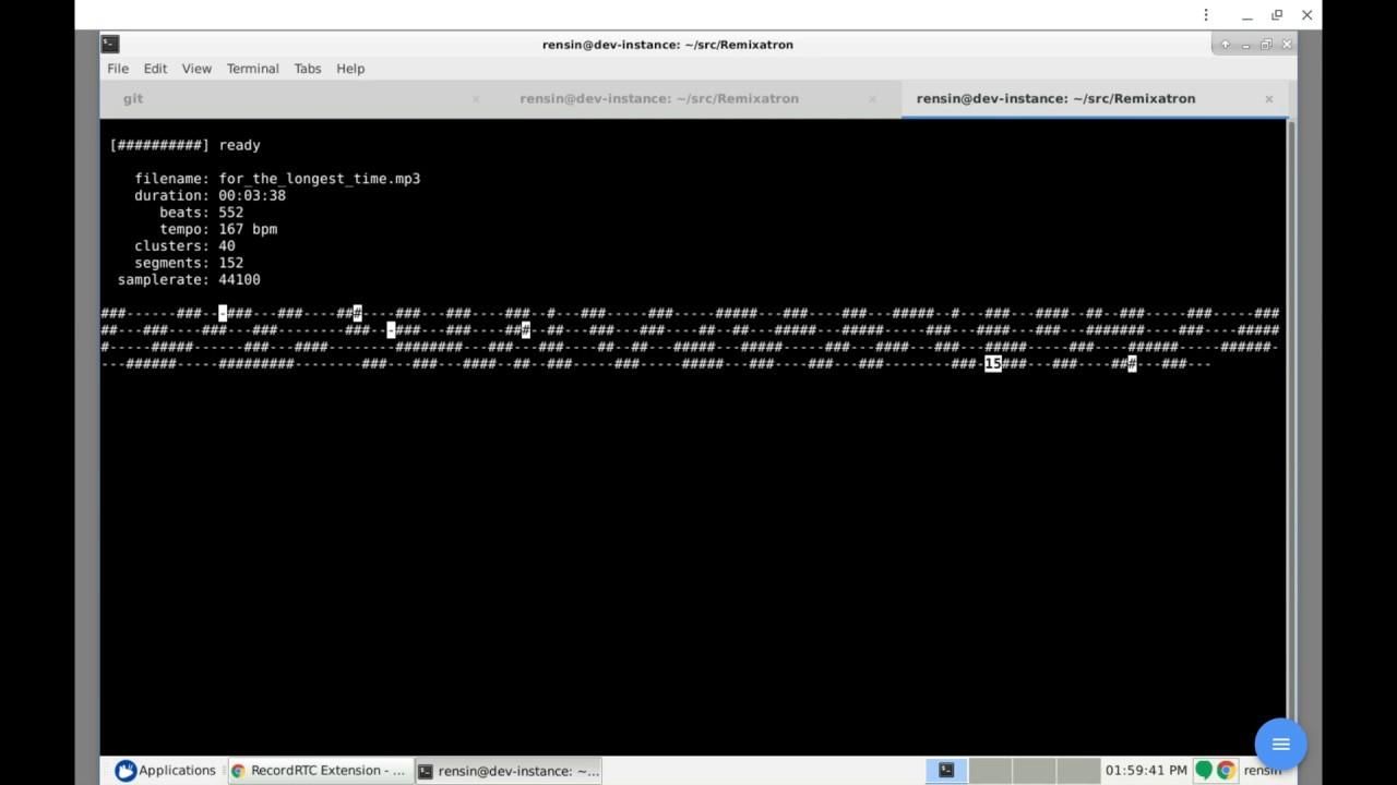 GitHub - drensin/Remixatron: Infinite Jukebox on the command line in