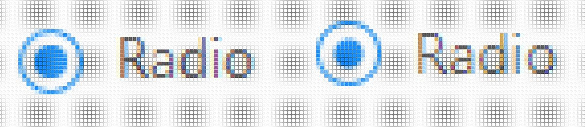 Firefox vs Chrome with .876 scaling