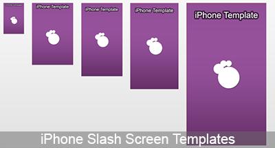 iPhone Splashscreen Template