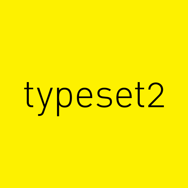 Typeset2