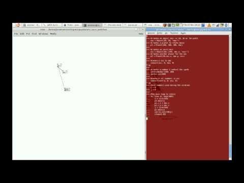 Pyata Demo (using Pure Data inside Python)