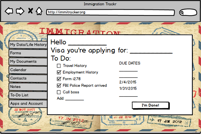 GitHub - ImmigrationTracker/ImmigrationTracker: an Immigration Tracker