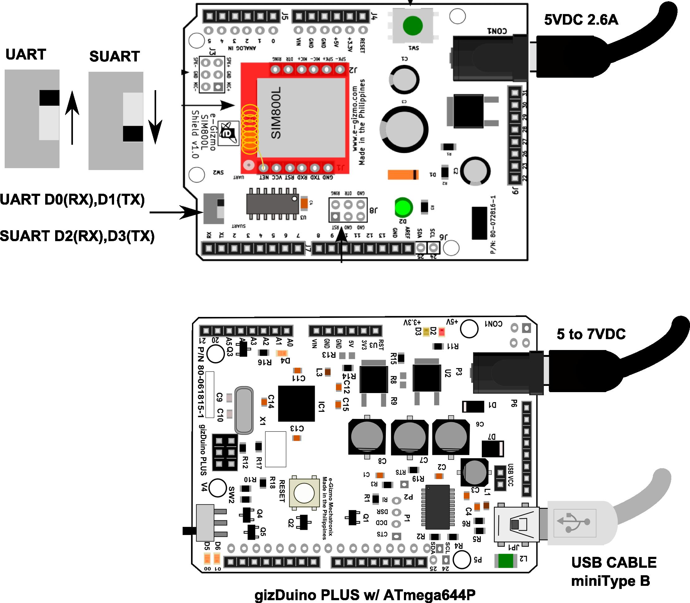 GitHub - e-Gizmo/SIM800L-Shield