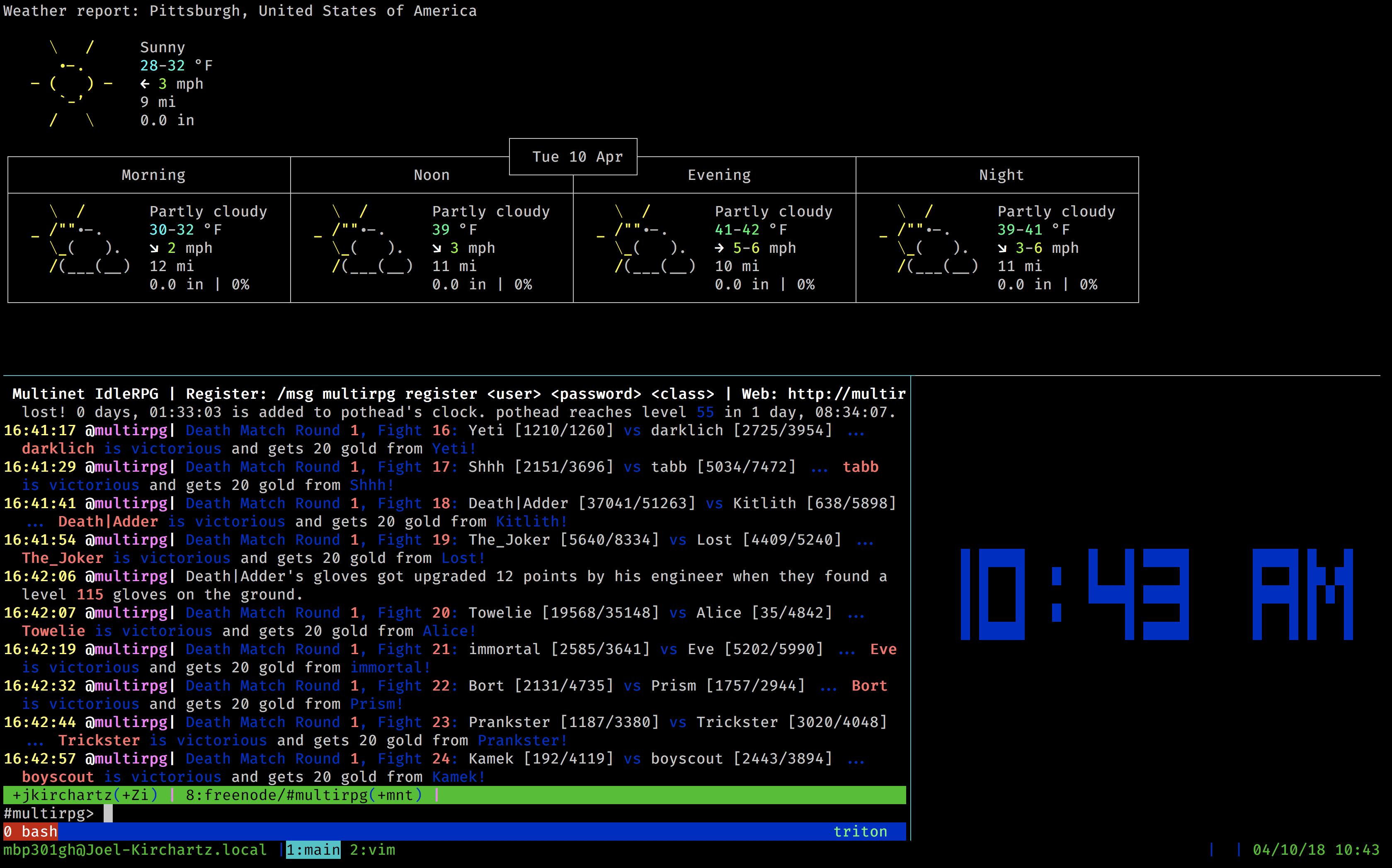 cli screenshot