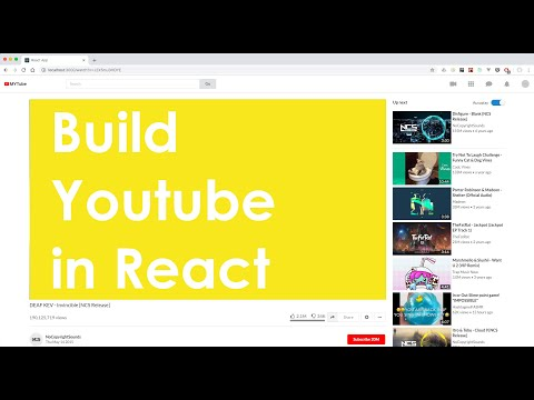 Build Youtube in React demo video