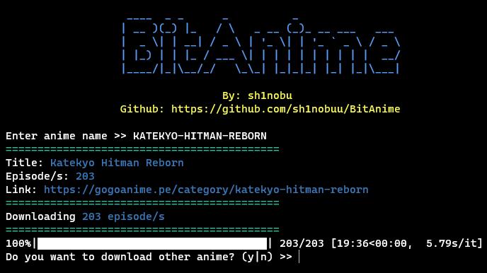 BitAnime Screenshot