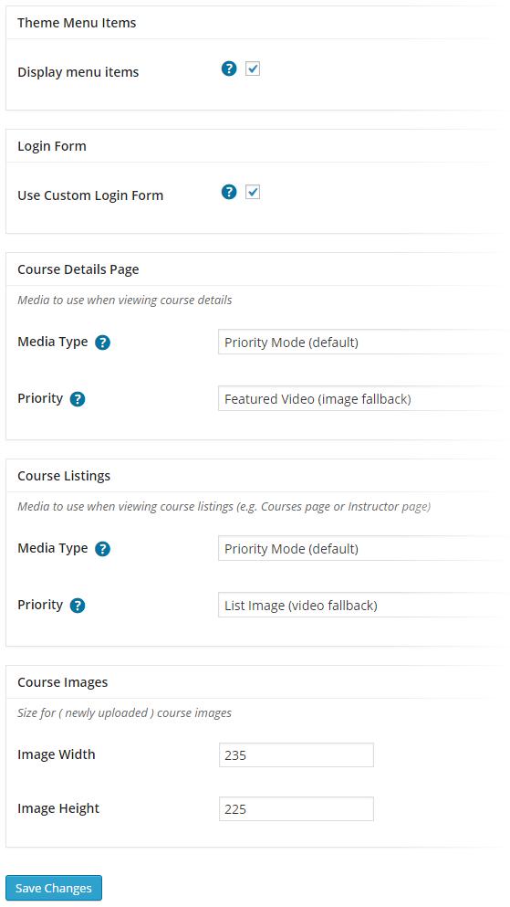 CoursePress - Settings - Others