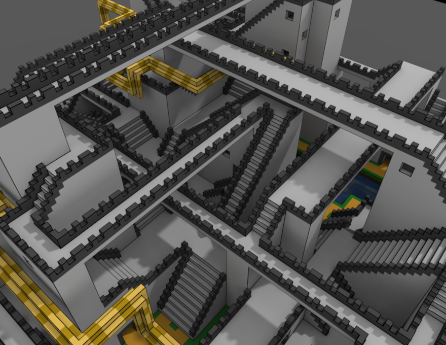 voxel perspective