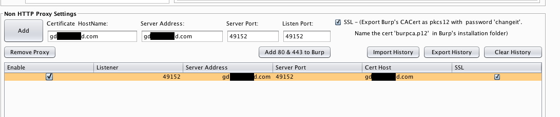 Intercepting SSL Traffic with NoPE · summitt/Burp-Non-HTTP