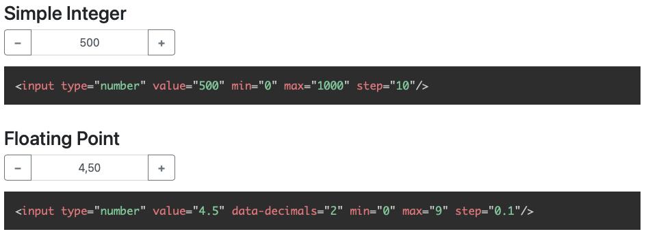 bootstrap-input-spinner