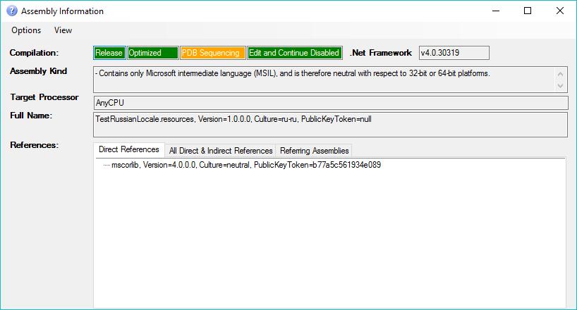 dotnet exe always generates the debug versions of