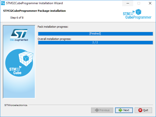 Install programmer step 6.5