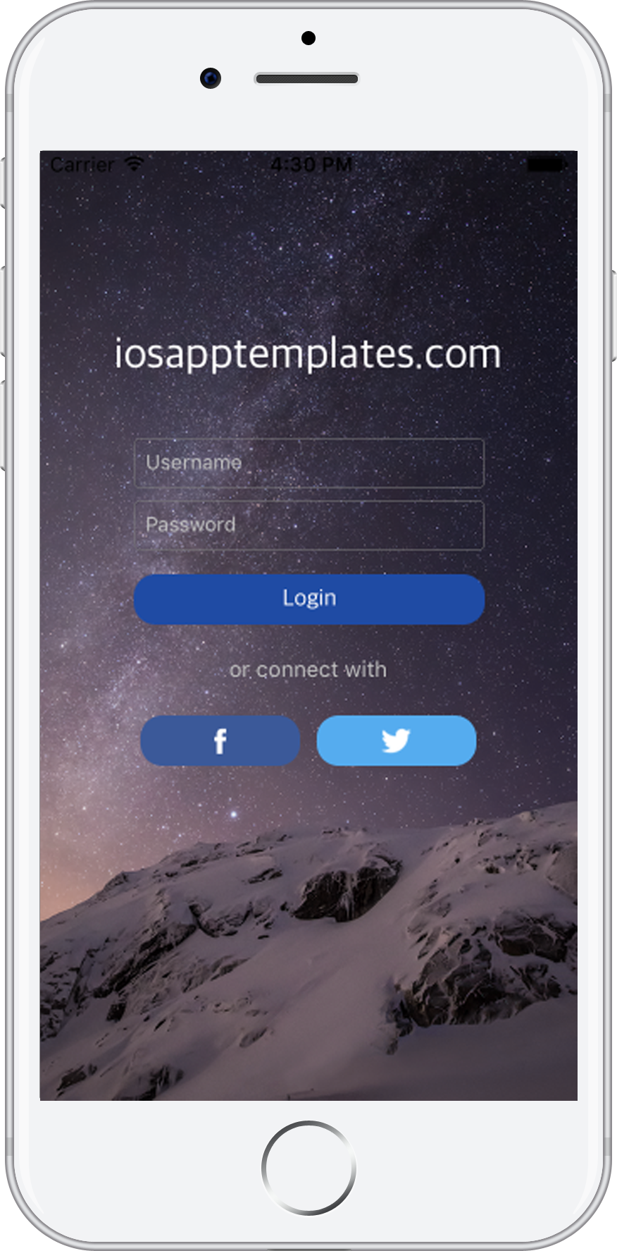iOS Login Screen in Swift