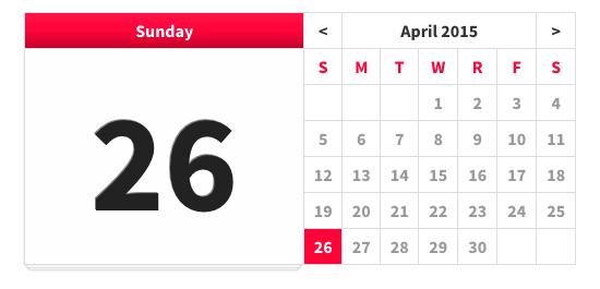 GitHub - sautille/calendar: JavaScript Calendar