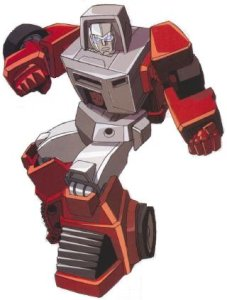 Windcharger mascot. He carries powerful magnets in his arms that he can use to manipulate large objects.