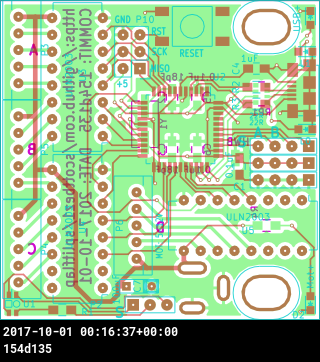 pcb rendering
