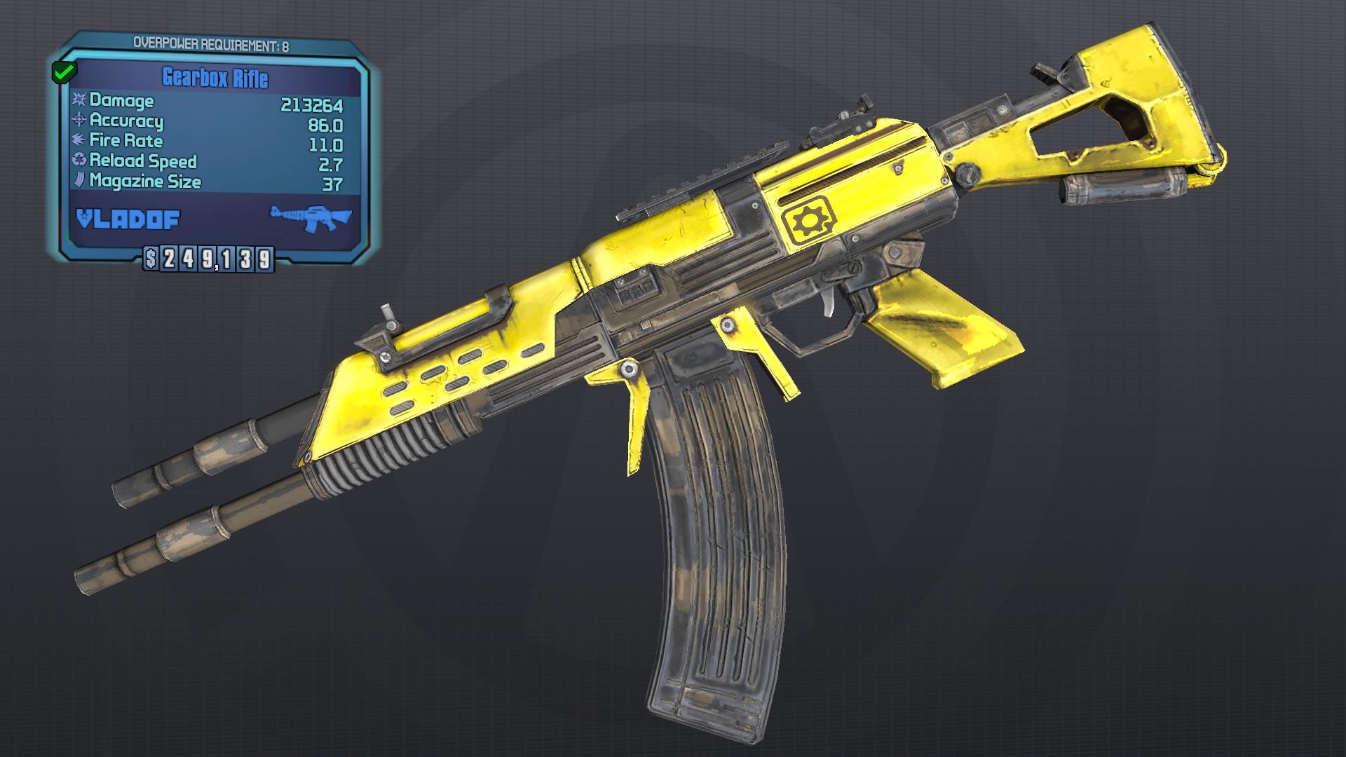 Gearbox Guns Plus · BLCM/ModCabinet Wiki · GitHub