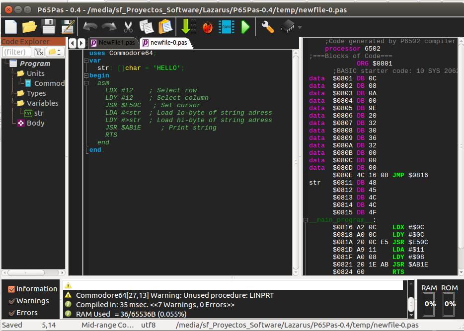 C64 Ide For Linux