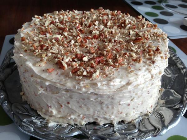 Red Velvet cake finished