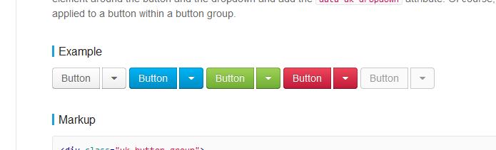 Gap between buttons · Issue #59 · uikit/uikit · GitHub